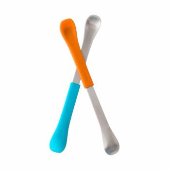 Набор ложек для кормления Boon Swap - Orange/Blue