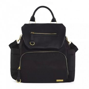 Рюкзак для мамы Skip Hop Chelsea Downtown Chic Black Черный