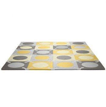 Игровой коврик-пазл Skip Hop Playspot Grey/Gold