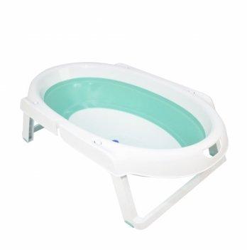 Складная ванночка Babyhood, зеленая