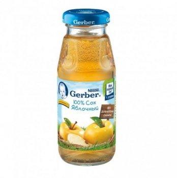 Сок Nestle Gerber яблочный 175 г