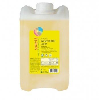 Органическое жидкое средство для стирки цветных тканей Sonett GB5041 10 л