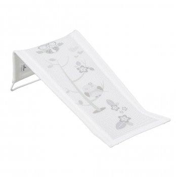 Лежак для купания из хлопка Tega baby Сова Белый SO-026-103