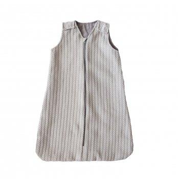 Детский спальный мешок Merrygoround Косички Серый SM_09