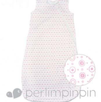 Спальный мешок из хлопка Perlimpinpin, розовый