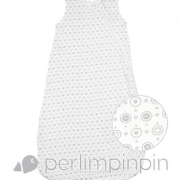 Спальный мешок из хлопка Perlimpinpin серый