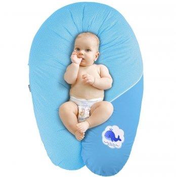 Подушка для беременных и кормления Idea Standart Горох голубой