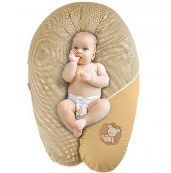 Подушка для беременных и кормления Idea Standart Горох горчица