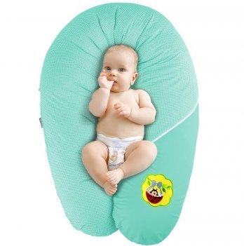 Подушка для беременных и кормления Idea Standart Горох ментол