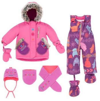 Зимний костюм (куртка и полукомбинезон) Deux par Deux E 506-631
