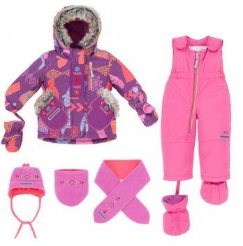 Зимний костюм (куртка и полукомбинезон) Deux par Deux E 506-537
