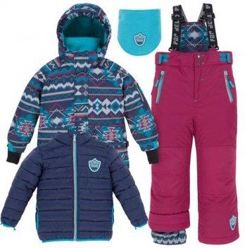 Зимний костюм (куртка и полукомбинезон) Deux par Deux J 312-764