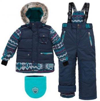 Зимний детский комплект для девочки Deux par Deux J 812-499