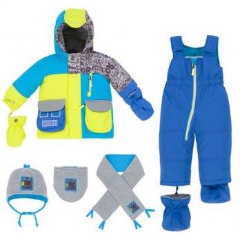 Зимний костюм (куртка и полукомбинезон) Deux par Deux Q 518-487