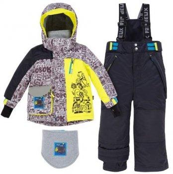 Зимний детский комплект 3 в1 Deux par Deux Q818-999