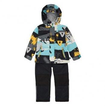 Демисезонный костюм 3 в 1 (куртка, штаны, флисовая кофта + шапка) Deux par Deux W 52-999
