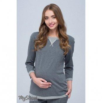 Свитшот для беременных и кормящих мам MySecret, GIGI SW-38.091 Размер L