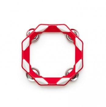 Музыкальный инструмент Kid O, Тамбурин, цвет красный