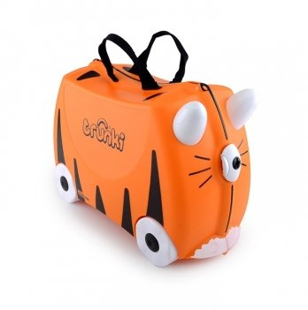 Детский чемодан на колесах Trunki Tipu Tiger