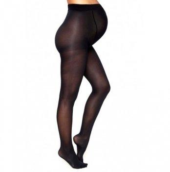 Колготки MammaLux для беременных fitnes с утяжкой по ноге 40 den черные, 715