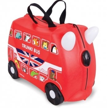 Детский чемодан на колесах Trunki Boris Bus