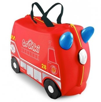 Детский чемодан на колесах Trunki Frank Fire Truck