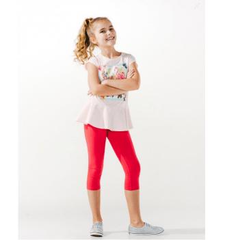 Лосины для девочки Smil возраст от 2 до 6 лет красные