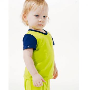 Футболка для мальчика Smil возраст от 6 до 18 месяцев салатовая