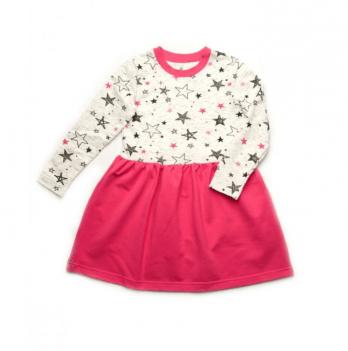 Платье двухнитка Модный карапуз