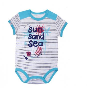 Боди-футболка для мальчика Smil от 6 до 18 месяцев