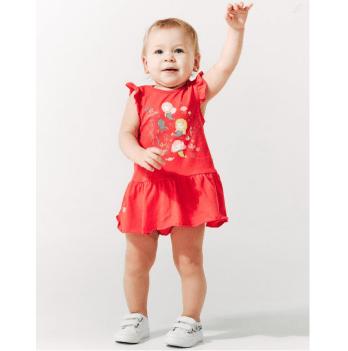 Комплект для девочки (сарафан и трусики) Smil от 6 до 18 месяцев красный