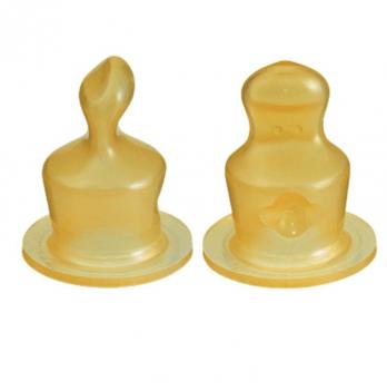 Соска латексная анатомическая свободная Canpol Babies, 2шт