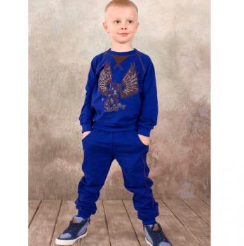 Спортивные брюки для мальчика Модный карапуз, синие