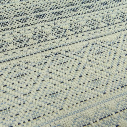Cлинг-шарф Indio Shades of blue mit Hanf/Leinen р-р 6 DIDYMOS