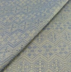 Cлинг-шарф 1975 Blue silk, extrabreit р-р 6 DIDYMOS