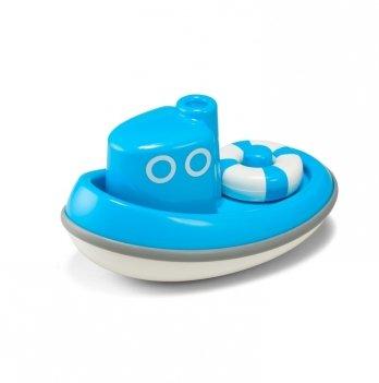 Игрушка для ванной Kid O, Лодочка, голубая