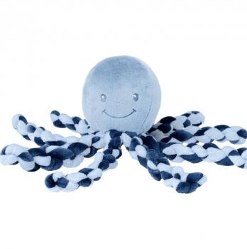 Мягкая игрушка Lapiduo Octopus Nattou, цвет синий