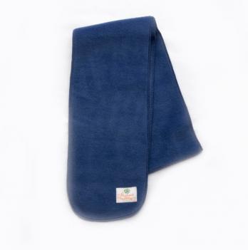 Шарф флисовый Модный карапуз, 120 см, синий