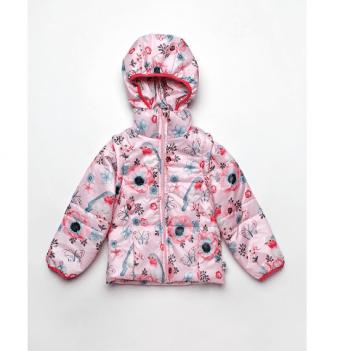 Куртка-жилетка для девочки Модный карапуз Animals Красный 03-00695