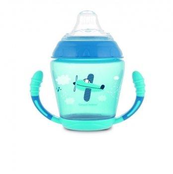 Чашка непроливайка Canpol babies Голубой 56/502 230 мл