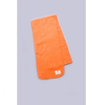 Шарф флисовый Модный карапуз, 120 см, оранжевый