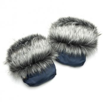 Рукавички для коляски/санок Модный карапуз, синие