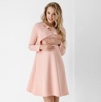Платье для беременных и кормящих Dianora Розовый 1859 1028