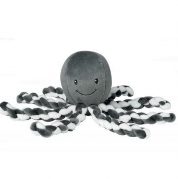 Мягкая игрушка Lapiduo Octopus Nattou, цвет серый