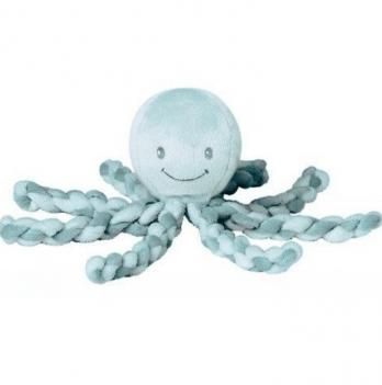 Мягкая игрушка Lapiduo Octopus Nattou, цвет салатовый