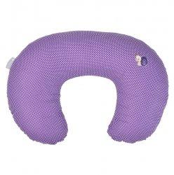 Подушка для кормления Улитка Idea 8-29889 сиреневый 56х38 см