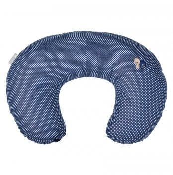 Подушка для кормления Улитка Idea 8-29889 темно-синий 56х38 см