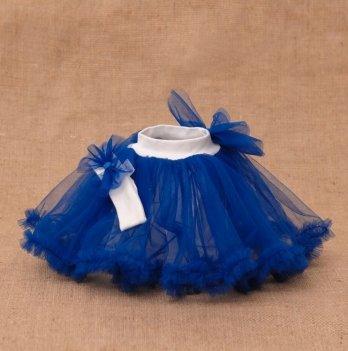 Костюм Веселка (юбка+ повязка) Бетис, синий
