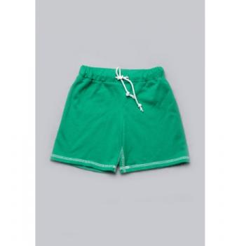 Шорты короткие для мальчиков Модный карапуз, зеленые