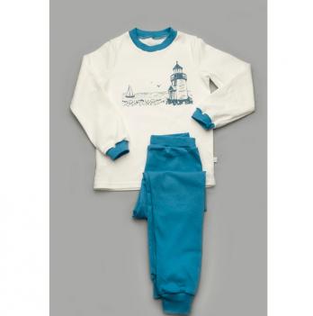 Пижама Модный карап, синяя